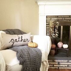 @twinks74's Warner Knit Throw + Lumbar Pillow make for a very cozy reading nook, don't you think? #fallstyle #mypotterybarn