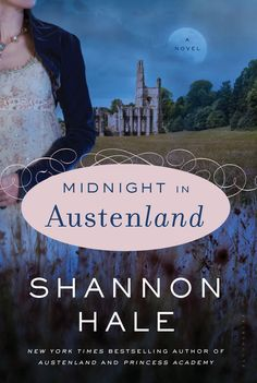 Midnight in Austenland by Shannon Hale -- If you read the funny, charming 1st book set in the titular role-playing resort you might think this sequel would be a retread with new characters. It's not! Midnight in Austenland is an entertaining murder mystery with a sensibly-measured dollop of romance. Request it at http://eisenhowerlibrary.org/ or by calling the Answers desk at 708.867.2299