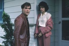 Ray Liotta and Lorraine Bracco in Goodfellas, 1990 Goodfellas Quotes, Goodfellas Movie, Movie Stars, Movie Tv, Don Corleone, Ray Liotta, Gangster Movies, Martin Scorsese, About Time Movie