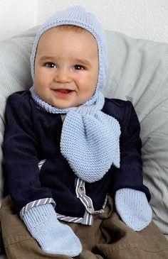 Skøn hue, fisk og vanter fra Hendes Verden Chrochet, Knit Crochet, Crochet Hats, Baby Knitting Patterns, Baby Wearing, Kids And Parenting, Winter Hats, Barn, My Favorite Things