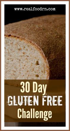 30 Day Gluten Free Challenge | Real Food RN #glutenfree