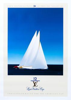 Louis Vuitton Cup - America's Cup - Perth Western Australia (medium format open edition) by Razzia