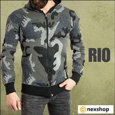 خرید بافت مردانه ارتشی مدل Rio