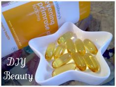 Evening Primrose Oil is great to reduce acne inflammation...but it's not eating it.