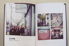 6x9 Blurb photobook to document a girls' weekend -- using only instagram photos