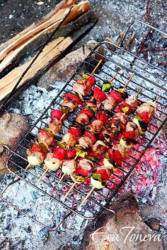 Shish kebab, bulgarian recipe