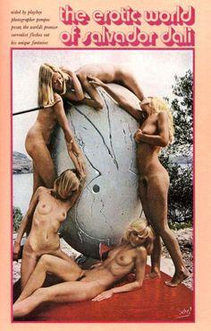 Playboy em 1971 por Dalí