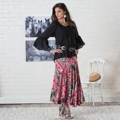 Abilene Aztec Maxi Skirt