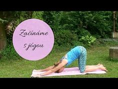 Začínáme s jógou - pro nováčky - YouTube Beach Mat, Youtube, Body Fitness, Workout, How To Plan, Sports, Instagram, Diet, Work Outs