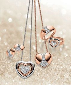 Viventy Jewels | Discover Your Heart | Earrings, rings and colliers | Korvakorut, sormukset ja kaulakorut | www.diamo.fi