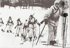 la misma división se adaptó al combate de invierno al reclutar suficientes esquiadores de entre sus filas para formar una compañía especial de 205 hombres.La Division Azul Española   Mundo Historia