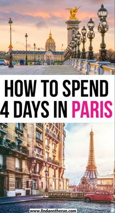 The ultimate 4 days in Paris itinerary| Where to go and what to see when you have 4 days in Paris| Paris| France| Europe| Travel tips #paris #france #francetravel #europetraveltips #traveltips Paris France Travel, Paris Travel Guide, France Europe, 4 Days In Paris, Oh Paris, European Travel Tips, European Vacation, Paris Itinerary, Road Trip Europe
