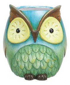 Look what I found on #zulily! Wise Owl Planter #zulilyfinds
