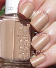 All Eyes On Nudes   The PolishAholic: Essie Cashmere Matte Collection Swatches & Review