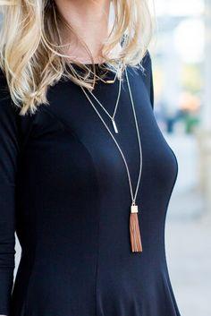 Jasper Gold Layered Necklace