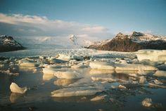 Jökulsárlón and the Breiðamerkurjökull glacier