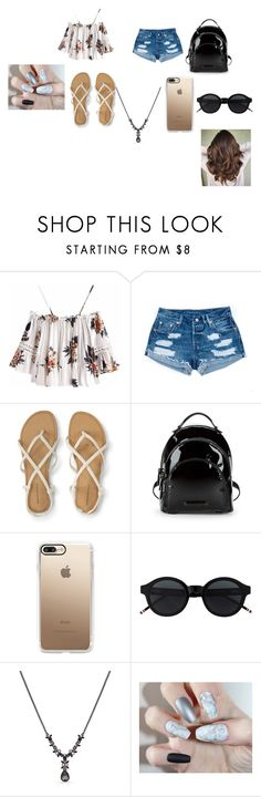 """""""Coachella Day 1"""" by princessladybug07 on Polyvore featuring Kendall + Kylie, Casetify and Givenchy"""