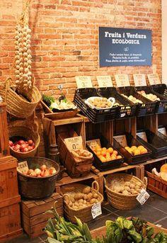 I love food, tienda de productos ecológicos de proximidad de Barcelona.