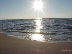 Holland Beach in Holland, Michigan on Lake Michigan.