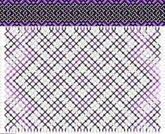 Muster # 85348, Streicher: 50 Zeilen: 32 Farben: 6