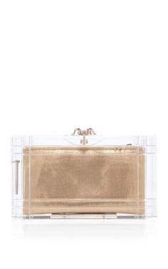 Shop Clear Perfume Pandora Clutch by Charlotte Olympia Now Available on Moda Operandi