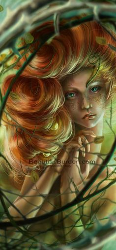 Moss and algae grew between her scales, her hair slick and wet. Her soul was just as briny as the pond she inhabited.