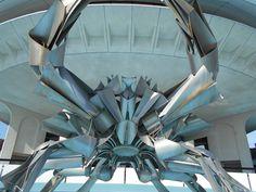 Chloe - week 8 photo 4 - Metal crab sculpture