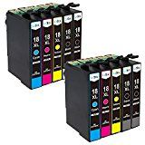 Uoopo T1295 3 Sets+3 Black Epson Compatible Ink Cartridges, Epson T1291 T1292 T1293 T1294 Ink Cartridges Multipack Use for Epson Workforce WF-3540DTWF WF-3010DW WF-3530DTWF WF-3520DWF WF-7015 WF-7515 WF-7525 Stylus SX420W SX425W SX440W SX445W SX525WD SX535WD SX620FW Stylus Office BX305F Office BX 305 FW Plus BX320FW BX525WD BX625FWD BX635FWD BX925FWD BX935FW Printer, Pack of 15 (6 Black, 3 Cyan,3 Magenta,3 Yellow): Amazon.co.uk: Office Products