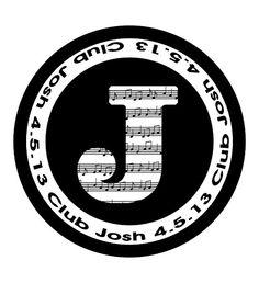 Music Musical Notes Dance Club Bat Bar Mitzvah Logo Logos