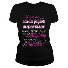 ACCOUNT PAYABLE SUPERVISOR - WOMEN T5 T-SHIRTS, HOODIES, SWEATSHIRT (22.99$ ==► Shopping Now)