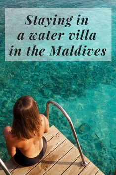Staying in a water villa in the Maldives has always been on my bucket list! Read about my water villa experience and my stay at Kuramathi in the Maldives! Tropical Islands To Visit, Caribbean Islands To Visit, Travel Tips For Europe, Asia Travel, Travel Destinations, Maldives Travel, Maldives Trip, Water Villa, Need A Vacation