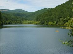 Upper Lake Creek, Hult Reservoir, Oregon
