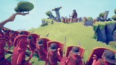 'Totally Accurate Battle Simulator' Captures the Goofy Mayhem of Mass Violence Xbox Games, Epic Games, Tabs Game, Stick Fight, Make A Game, Game Pass, Cover Pics, State Art, Xbox One