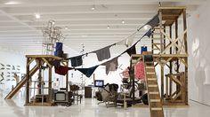@haus_der_kunst: The Autoconstrucción Suites, Abraham Cruzvillegas @autoconstruido