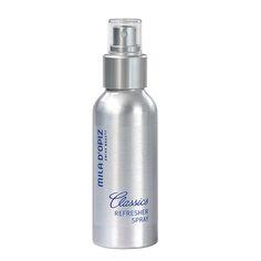 De Refresher Spray is bruikbaar boven make-up of boven dag- of nachtverzorging. Ook geschikt voor mannen na het scheren of na het sporten als verfrisser.