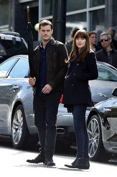 Depuis quelques semaines, Jamie Dornan et Dakota Johnson se sont retrouvés sur le tournage de la suite de «Fifty Shades of Grey» à Vancouver, au Canada.