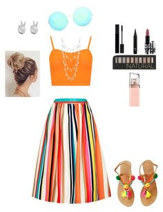 """The dog days of summer"" by laurenft2003 on Polyvore featuring Alice + Olivia, WearAll, Uno de 50, Rock 'N Rose, Victoria Beckham, Forever 21, Gucci, MAC Cosmetics and HUGO"