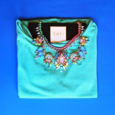 Collar - $25dlls Blusa - $12dlls  https://www.facebook.com/yandg.accessories #collar #blusa #ygaccessories