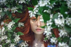 Image result for red hair autumn photography
