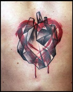 Really like this...Heart tattoo by Peter Aurisch