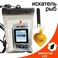 78.88$  Buy now - http://ali21k.worldwells.pw/go.php?t=32612279177 - Russian FFW-718 LUCKY Fish finder Digital Wireless Fishfinder 45M Portable Sonar Sensor River Lake Sea with Waterproof Bag