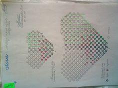 Маки | biser.info - схема плетения лепестков мака