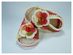 Crochet Baby sandals Summer sandals Custom baby от NikitasStore