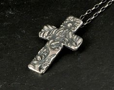 Handcrafted Jewellery by NtepiJewellery on Etsy Sterling Silver Cross, Handmade Sterling Silver, Sterling Silver Jewelry, Handcrafted Jewelry, Handmade Items, Graduation Gifts For Her, Woman Doctor, Crucifix, Secret Santa