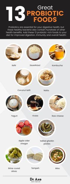 13 great probiotic foods - Dr. Axe