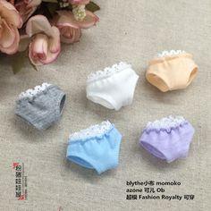 Free shipping Doll underwear Doll clothes doll accessories for Blyth Momoko, Licca, OB, Fashion Royalty Doll