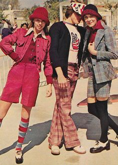 'Fun suits, long or short, here they come!' (1973) #seventeen