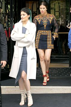 See what Kim Kardashian, Kris Jenner, Kourtney, Khloe, Kendall Jenner and Kylie Jenner wore to the pre-wedding brunch hosted by Valentino on May 23 Kim Kardashian Kanye West, Looks Kim Kardashian, Kim And Kanye, Kardashian Style, Kardashian Jenner, Balenciaga, Givenchy, Gucci, Kim Kanye Wedding