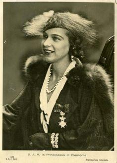 Princess Marie Jose of Italy nee Princess of Belgium 1906 – 2001
