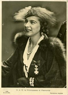 Princess Marie Jose of Italy nee Princess of Belgium 1906 – 2001